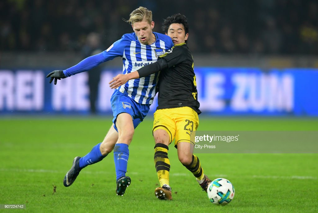 Hertha BSC v Borussia Dortmund - 1.Bundesliga : News Photo