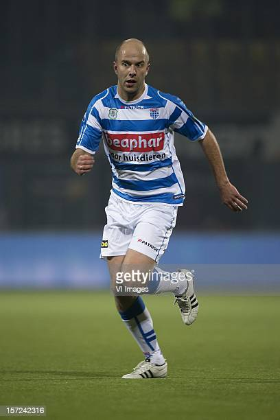 Arne Slot of PEC Zwolle during the Dutch Eredivisie match between PEC Zwolle and VVVVenlo at the IJsseldelta Stadium on November 30 2012 in Zwolle...