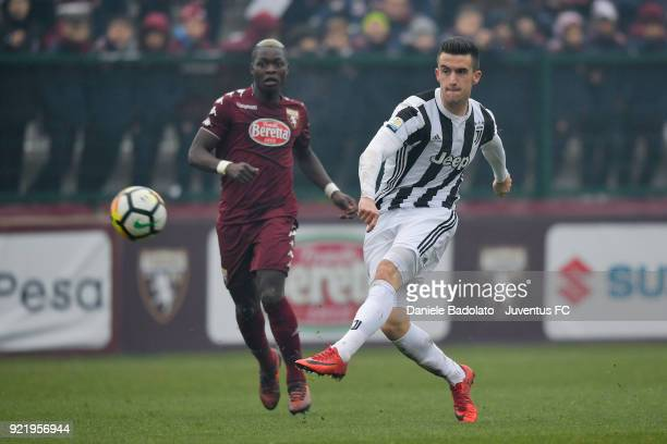 Arnel Jakupovic during the serie A Primavera match between Torino FC U19 and Juventus U19 at on February 17 2018 in Turin Italy