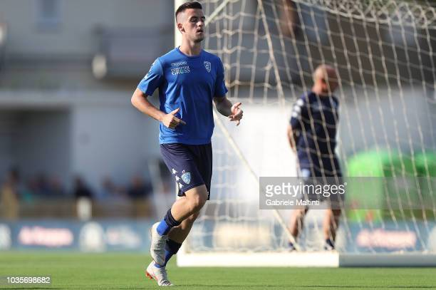 Arnel Jakupovic of Empoli FC in action during training session on September 18 2018 in Empoli Italy