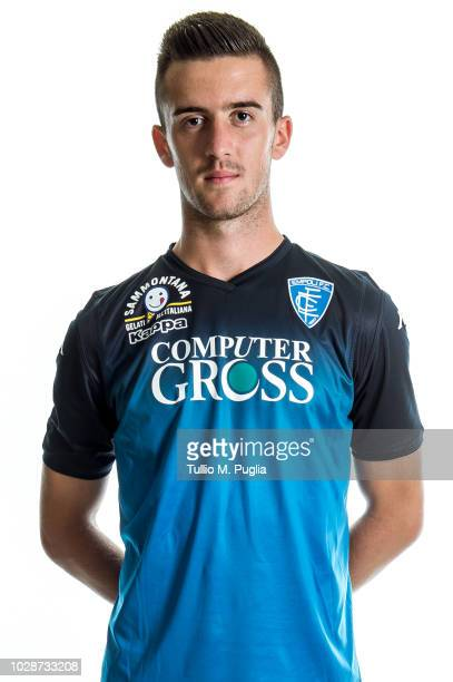Arnel Jakupovic of Empoli poses for a headshot on August 1 2018 in Empoli Italy