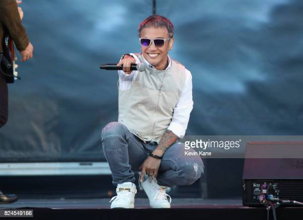 Arnel Pineda of Journey performs onstage during The Classic East Day 2 at Citi Field on July 30 2017 in New York City