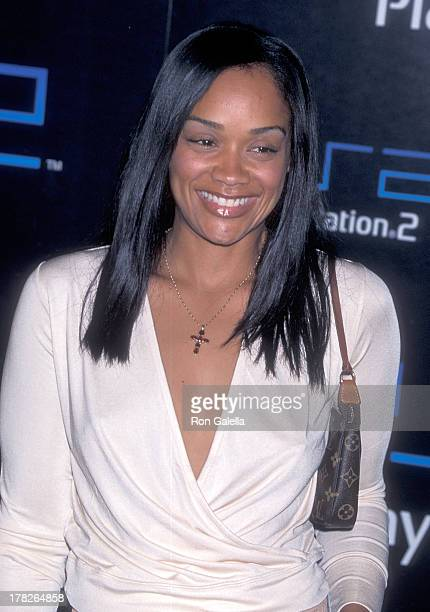 Arnelle Simpson attends Sony Computer Entertainment America Hosts PreE3 Party to Preview Upcoming PS2 Titles on May 15 2001 at the American Legion...