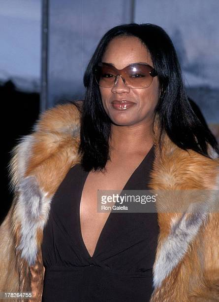 Arnelle Simpson attends the 15th Annual Soul Train Music Awards on February 28 2001 at the Shrine Auditorium in Los Angeles California
