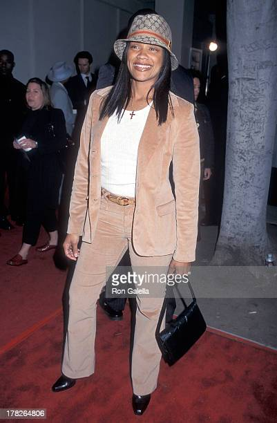 Arnelle Simpson attends the Kingdom Come Beverly Hills Premiere on April 15 2001 at the WGA Theatre in Beverly Hills California