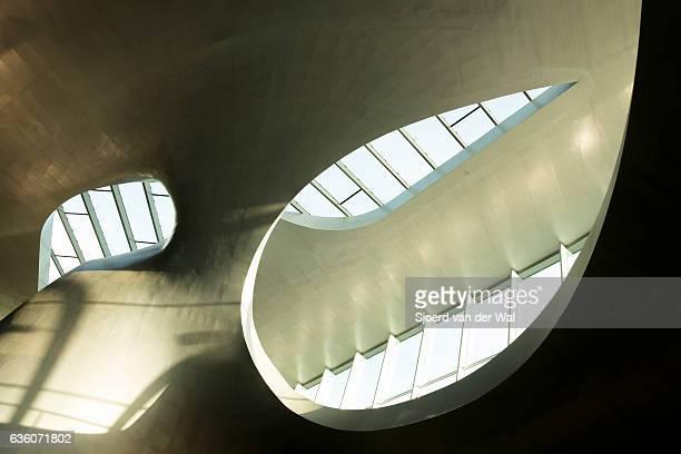arnhem central newly designed train station in the netherlands - gelderland stock pictures, royalty-free photos & images