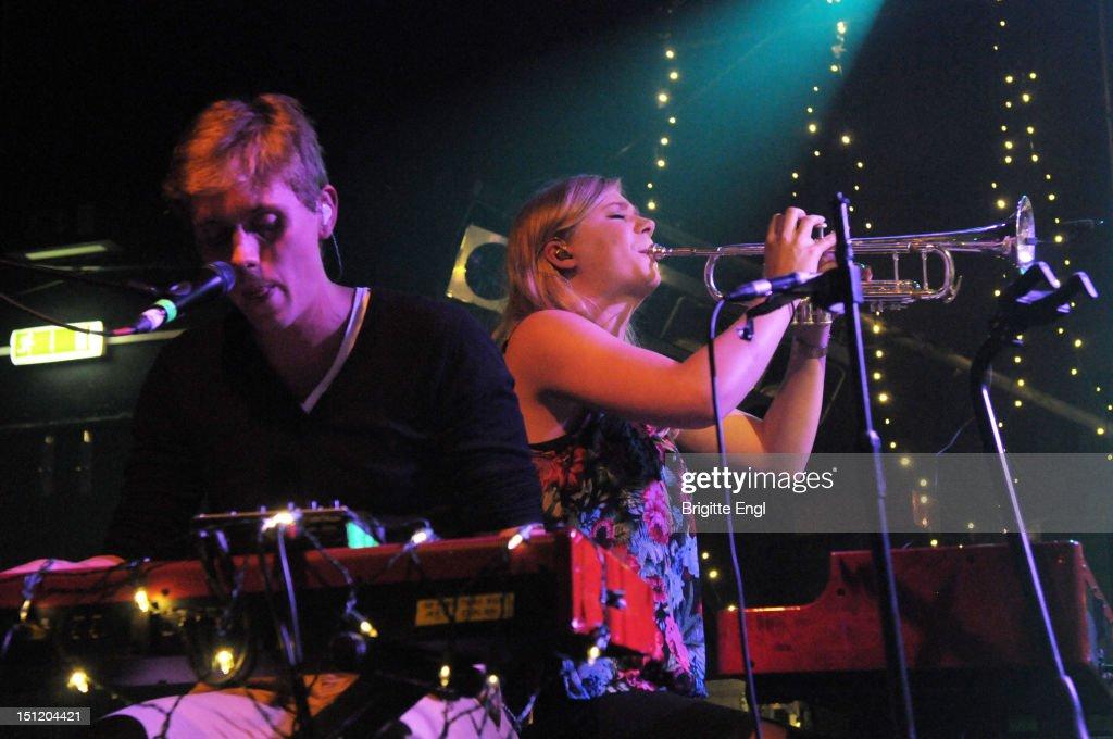 Arni Gudjonsson and Ragnhildur Gunnarsdottir of Monsters And