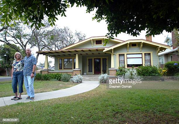 Arnie and Casey Koenig have been restoring their 1918 Craftsman that they purchased last year The home is located on F Street in Oxnard CA Some of...