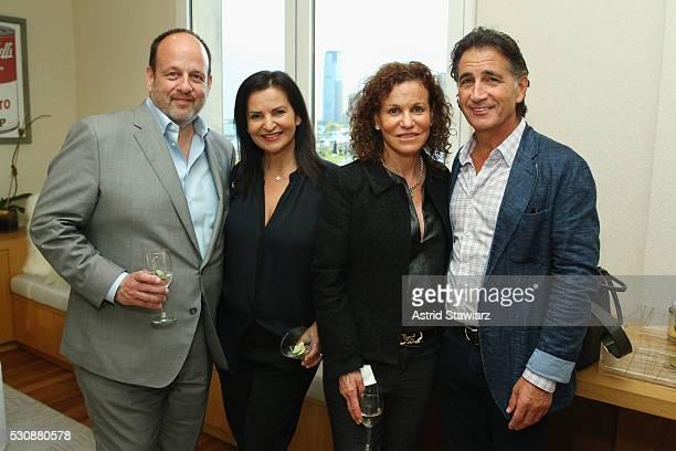 Arnie Cohen Veronique GabaiPinsky Marci Gardiner and Eric Gardiner attend as DuJour Media's Jason Binn and Misahara's Lepa GalebRoskopp host a...