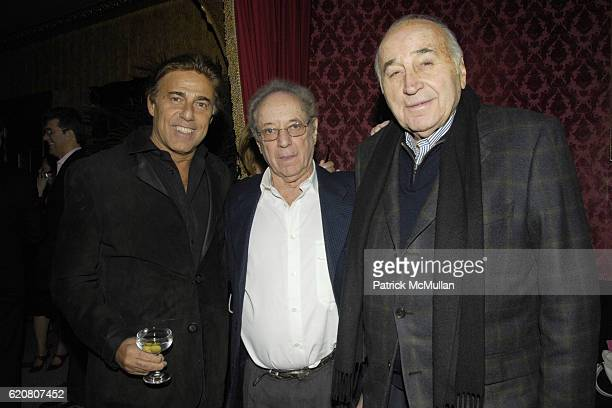 Arnie Rosenshein Herman Firesod and Lee Mellis attend Preview Party for ANTIK at Antik 356 Bowery on March 20 2008 in New York City