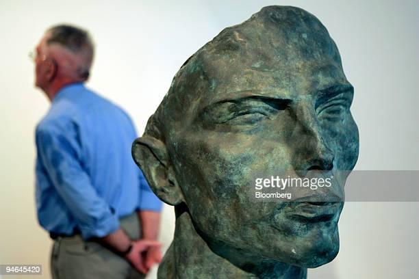 Arno Breker's bronze sculpture Romamichel manufactured in 1928 is seen on exhibit in the SchleswigHolsteinHouse in Schwerin Germany Wednesday July 26...