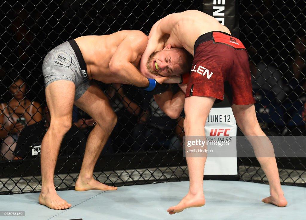 UFC Fight Night: Allen v Burnell : News Photo