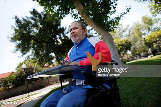 Arnold Arbiso is a quadriplegic who receives home care through a state program He is worried that union demands for overtime will end up hurting the...