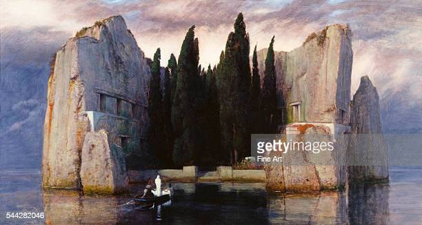 Arnold Böcklin The Isle of the Dead oil on panel 150 x 80 cm Alte Nationalgalerie Berlin