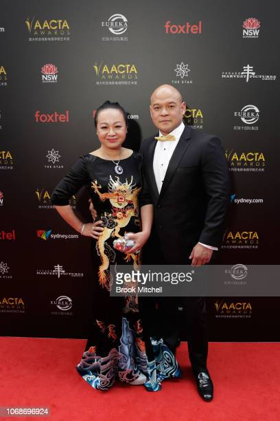 Arnold De Hond attend the 2018 AACTA Awards Presented by Foxtel at The Star on December 5 2018 in Sydney Australia