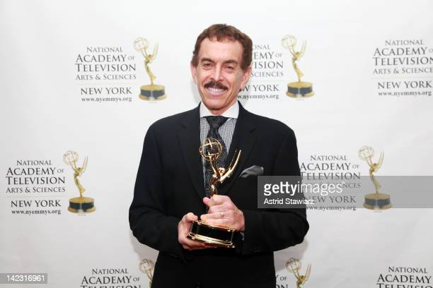 Arnold Diaz attends the 55th Annual New York Emmy Awards gala at the Marriott Marquis Times Square on April 1 2012 in New York City