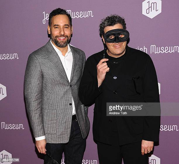 Arnold Germer and Isaac Mizrahi attend The Jewish Museum's Purim Ball 2015 at the Park Avenue Armory on February 25 2015 in New York City