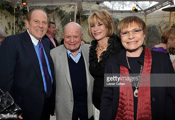 **EXCLUSIVE** Arnold Kopelson comedian Don Rickles and guests celebrate at the 'Stories from Candyland' launch party hosted by Wallis Annenberg on...