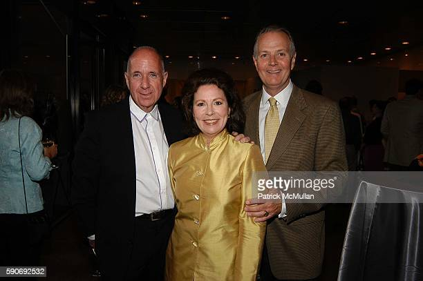 Arnold Lehman Janet Atkins and Charleton Watkins attend Basquiat Exhibition Preview at MOCA on July 15 2005 in Los Angeles CA