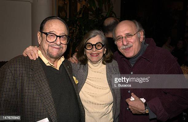 Arnold Newman and Augusta Newman with Peter Yarrow of Peter Paul Mary