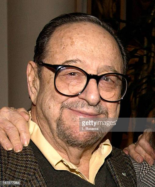Arnold Newman during Peter Paul Mary 'Carry It On' Box Set Release Party at Peter Yarrow's home in New York NY United States