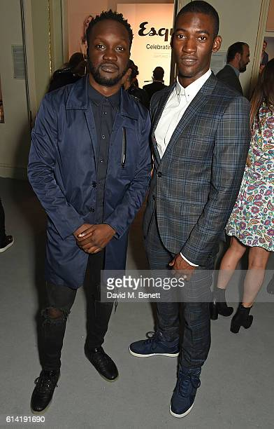 Arnold Oceng and Malachi Kirby attend the launch of the Esquire Townhouse with Dior on October 12 2016 in London England