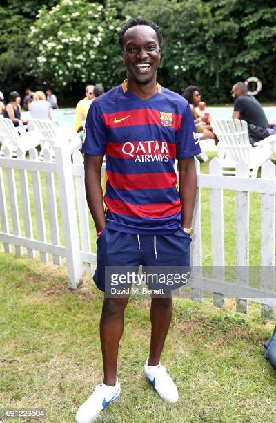Arnold Oceng attends Island Records' 'Island Life' on Osea Island on June 1 2017 in London England
