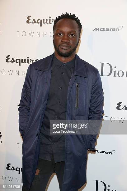 Arnold Oceng attends the Esquire Townhouse with Dior launch party on October 12 2016 in London England
