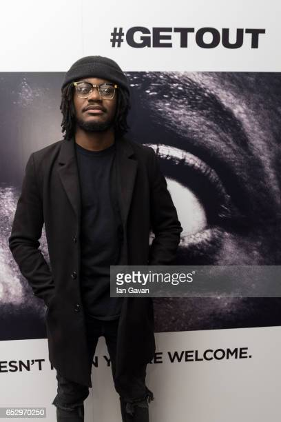 Arnold Oceng attends the 'GET OUT' Special Screening at the Soho Hotel on March 13 2017 in London England