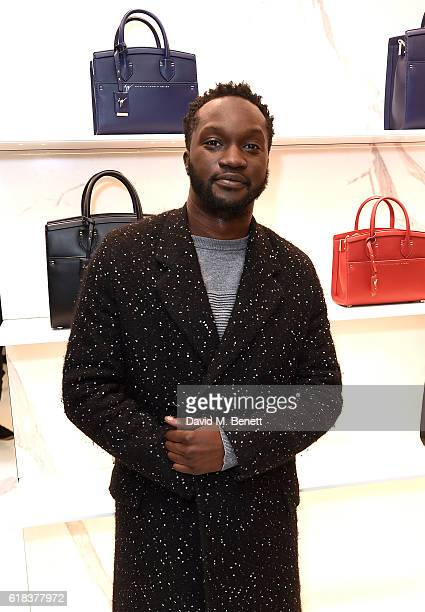 Arnold Oceng attends the Giuseppe Zanotti London flagship store launch on October 26 2016 in London England