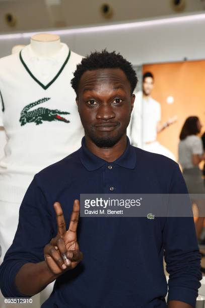 Arnold Oceng attends the Lacoste VIP Exhibition Launch Westfield London at Westfield London on June 7 2017 in London England