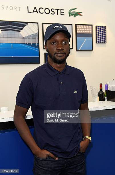 Arnold Oceng attends the Lacoste VIP Lounge at ATP World Finals 2016 on November 18 2016 in London England