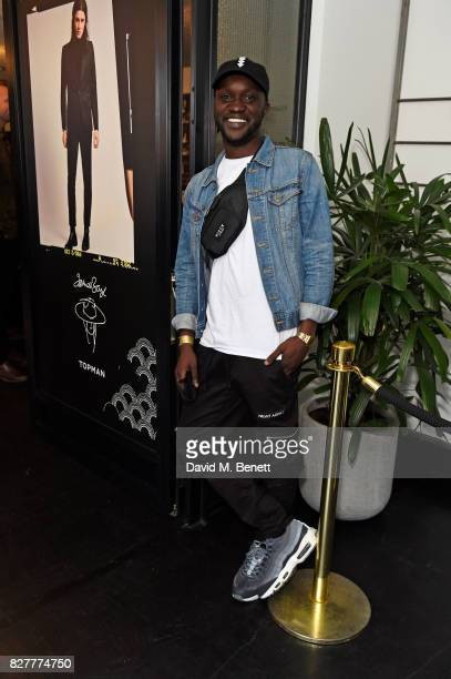 Arnold Oceng attends the launch of James Bay's new Topman collection at The Ace Hotel on August 8 2017 in London England
