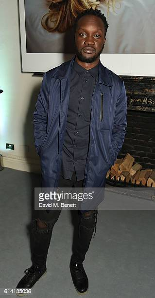 Arnold Oceng attends the launch of the Esquire Townhouse with Dior on October 12 2016 in London England