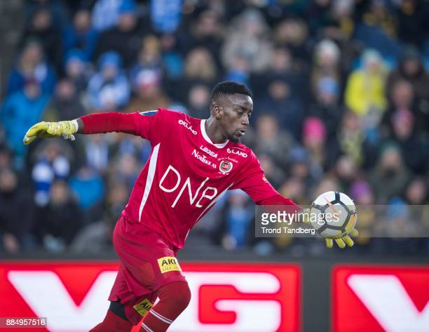 Arnold Origi during Norway Cup Final between Sarpsborg 08 v Lillestrom at Ullevaal Stadion on December 3 2017 in Oslo Norway