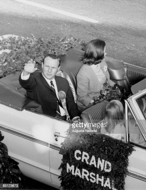 Arnold Palmer As The Grand Marshal Of The Rose Parade