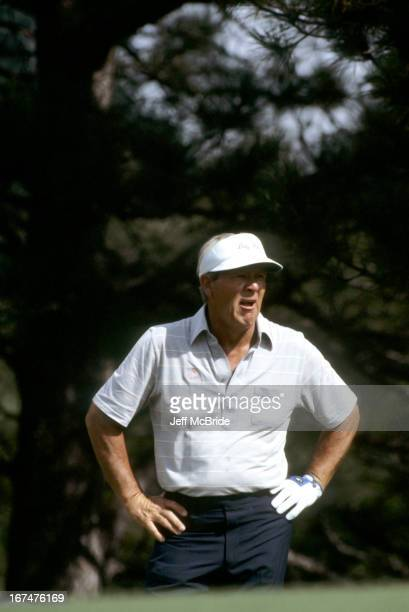 Arnold Palmer during the 67th PGA Championship held at Cherry Hills Country Club in Englewood Colorado August 811 1985