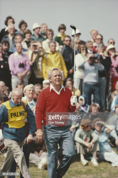 Arnold Palmer of the United States during the 107th Open Championship on 14 July 1978 on the Old Course at St Andrews, Fife, Scotland.