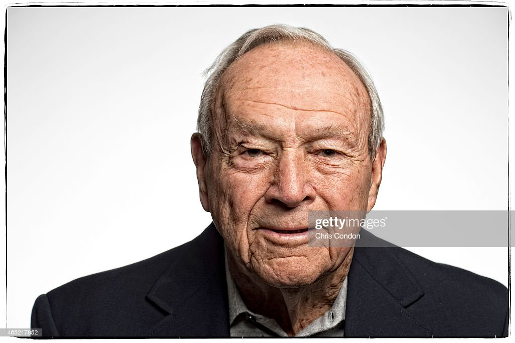 Arnold Palmer Portrait : News Photo