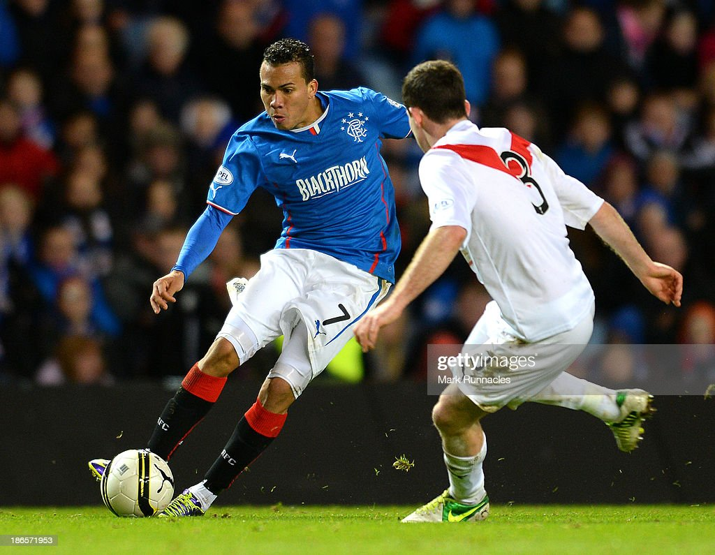Rangers v Airdrieonians - The William Hill Scottish Cup: Third Round : News Photo