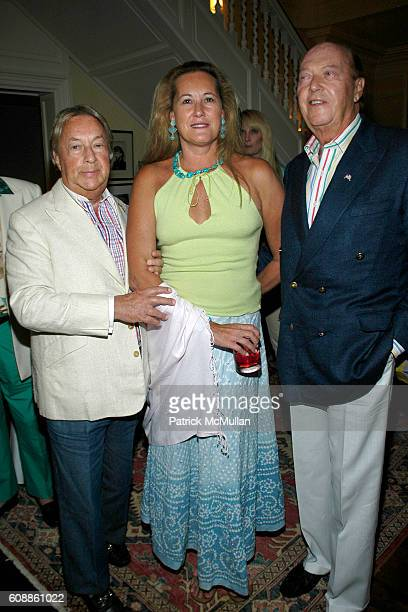 Arnold Scaasi Diane de la Bregassier and Parker Ladd attend The Kickoff party of Bewitched Bothered and Bewildered The 2007 ALZHEIMER'S ASSOCIATION...