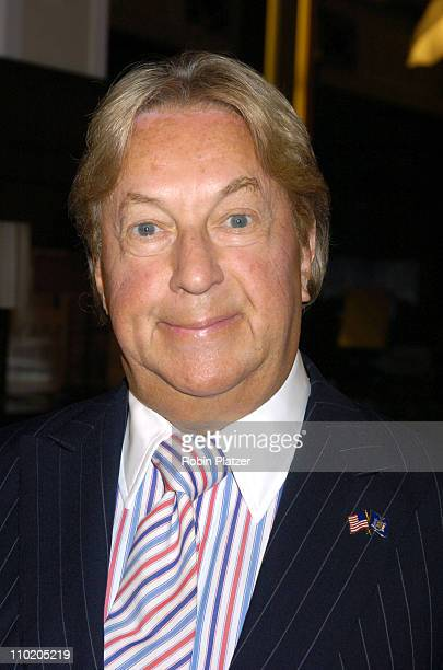 Arnold Scaasi during Olympus Fashion Week Spring 2005 SAKS Kickoff Party for 'Intents' at Saks Fifth Avenue in New York City New York United States