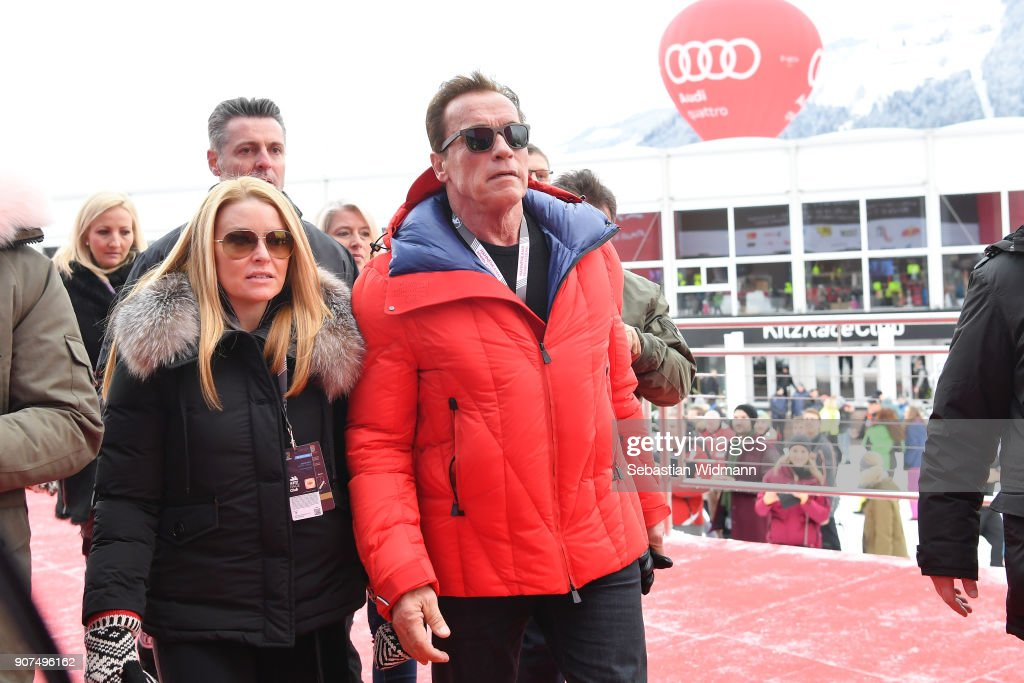 Celebrities At Hahnenkamm Race Weekend