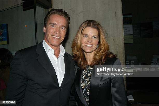 """Arnold Schwarzenegger and his wife, TV newswoman Maria Shriver, are on hand for a 25th anniversary showing of """"Pumping Iron,"""" the film that made..."""