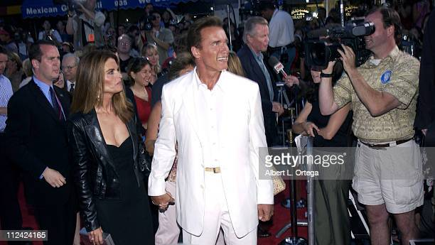 Arnold Schwarzenegger and Maria Shriver during Terminator 3 Rise of the Machines Los Angeles Premiere at Mann Village Theatre in Westwood California...