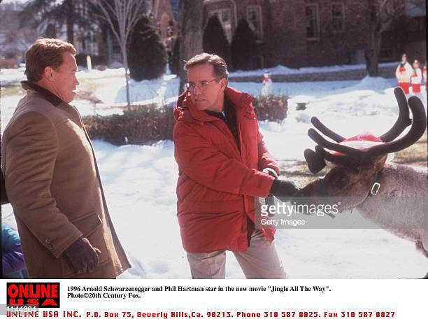 Arnold Schwarzenegger and Phil Hartman stars in the new movie Jingle All The Way