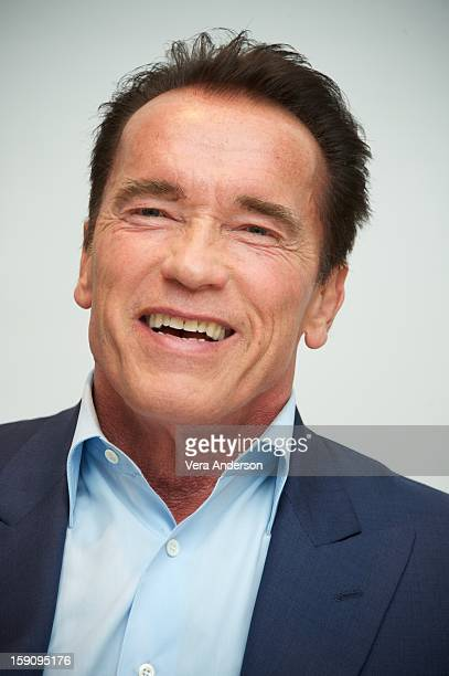 Arnold Schwarzenegger at The Last Stand Press Conference at the Four Seasons Hotel on January 5 2013 in Beverly Hills California