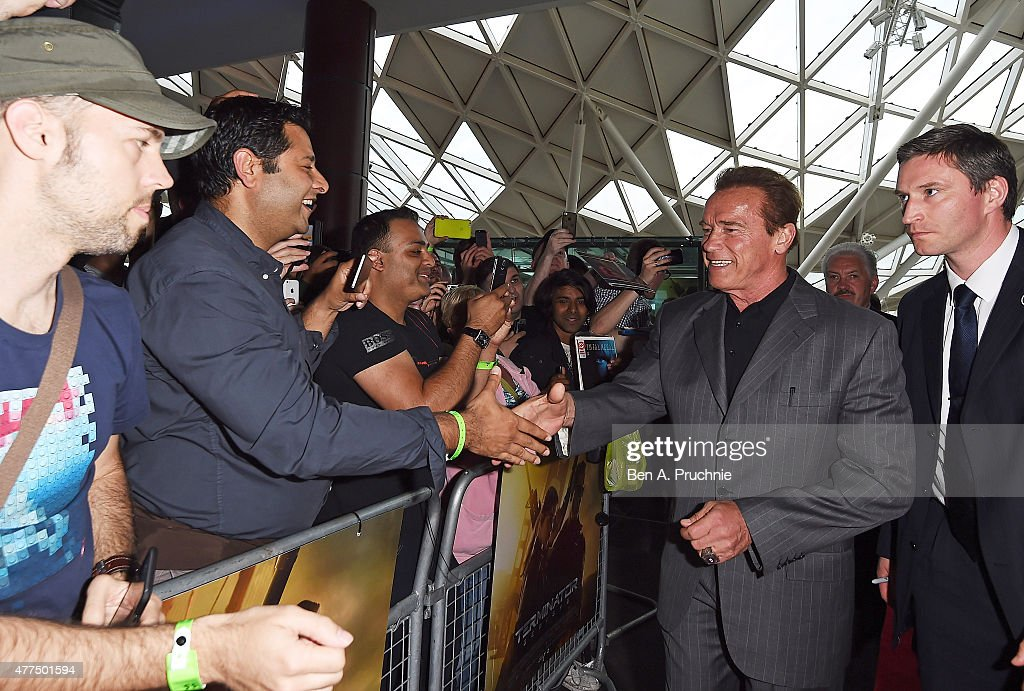 Terminator Genisys Fan Footage Event : News Photo