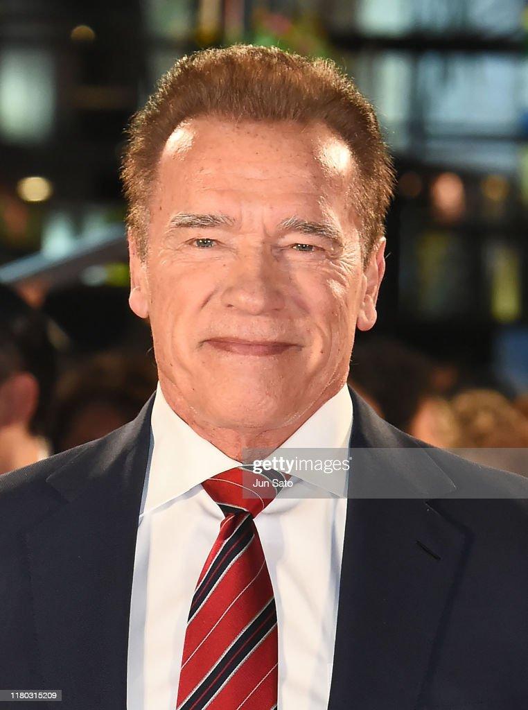 'Terminator: Dark Fate' Premier In Tokyo : News Photo
