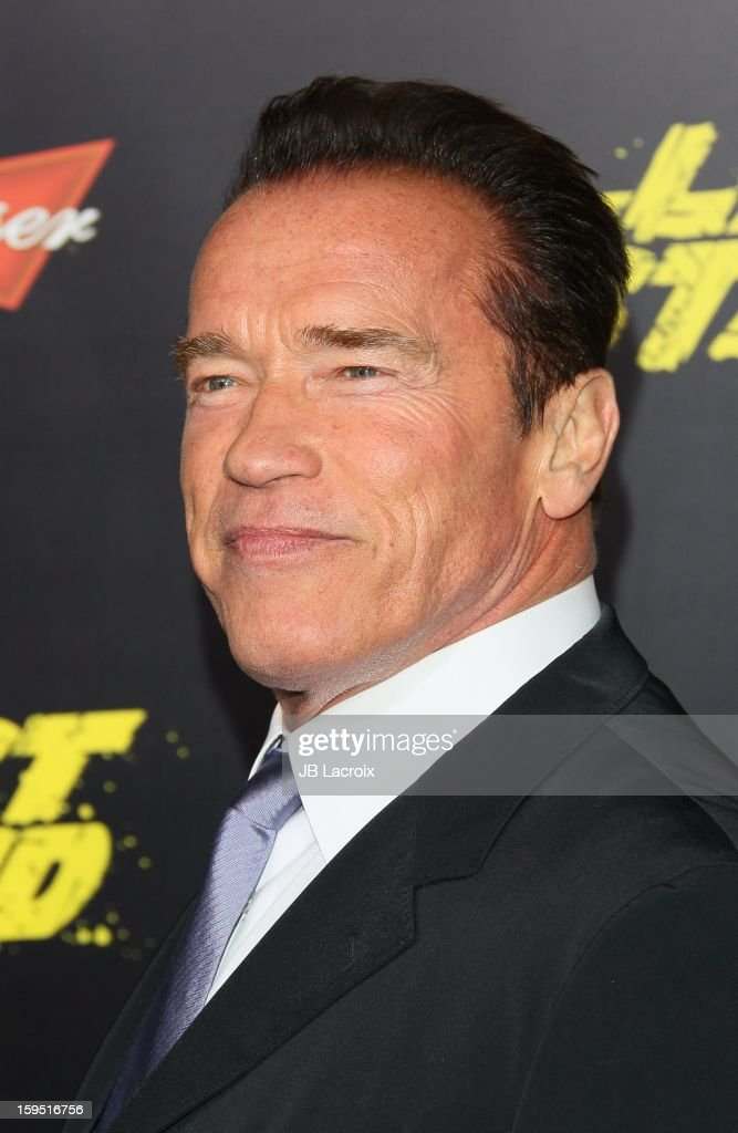 Arnold Schwarzenegger attends 'The Last Stand' - Los Angeles Premiere at Grauman's Chinese Theatre on January 14, 2013 in Hollywood, California.